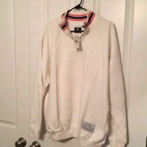 NWT, GAP Zip pull over sweat shirt, Size Large